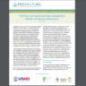 The role of agricultural insurance: Gender and nutrition dimensions (GCAN policy note)