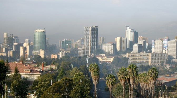 Addis Ababa (photo credit: Reuters / Tiksa Negeri)