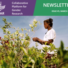 CGIAR Collaborative Platform for Gender Research Newsletter March 2018, issue 5 (photo credit: Ollivier Girard / CIFOR)