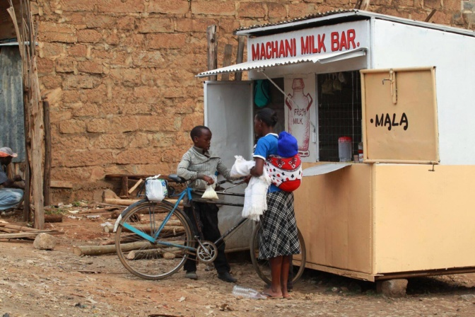 Milk bar at Maai Mahiu, Kenya (photo credit: North Star Alliance)