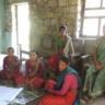 Village mapping and power ranking with women in Kailali District, Nepal, 2015 (photo credit: E. Karki)
