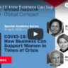 Speakers - How Business Can Suport Women in Times of Crisis